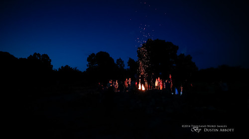 summer camp ontario canada silhouette children pembroke wideangle campfire event christianity bluehour fullframe sparks manualfocus petawawa uwa princeedward canoneos6d huycksbaycampandconferencecentre thousandwordimages dustinabbott dustinabbottnet adobelightroom5 rokinon14mmf28aspherical