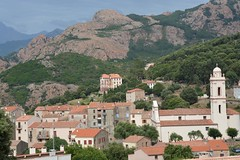 View on Piana (Corsica, France 2014)