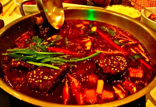 short rib hot pot