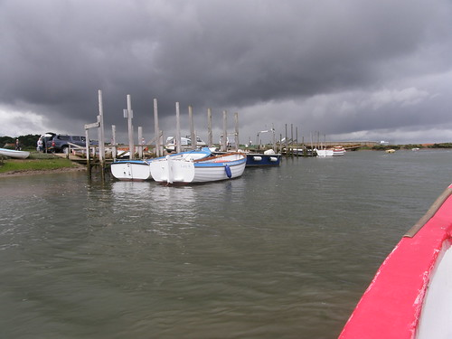 Black skies over Morston Creek