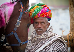Rajasthani horse trader at Pushkar