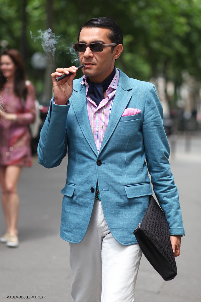 Antonio Nieto at Paris Fashion Week Haute Couture