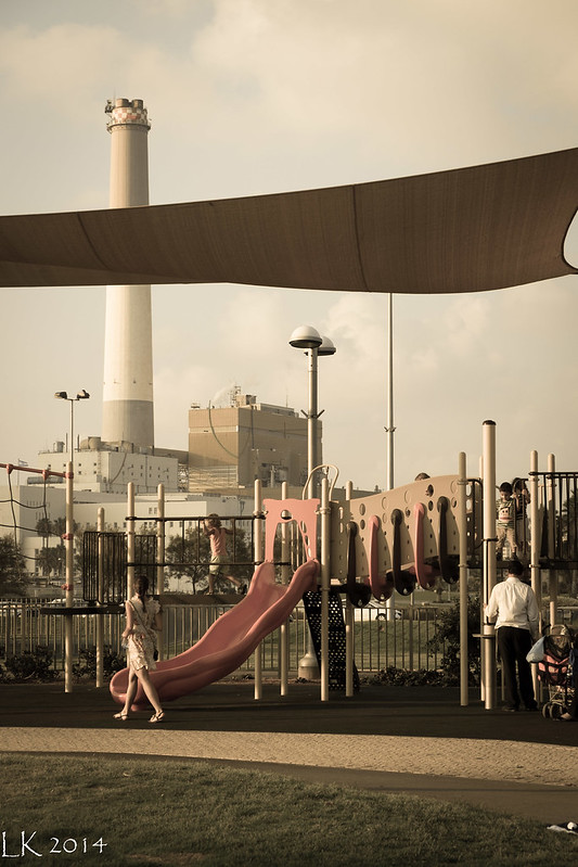 A playground at the Exhibition Grounds