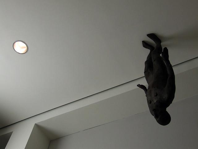 Gormley on the ceiling