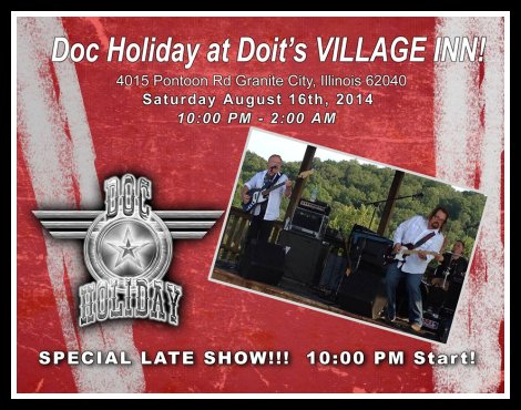 Doc Holiday 8-16-14
