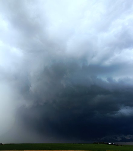 070914 - Industrial Light & Nebraska Thunderstorm Magic! (Vertical Pano)