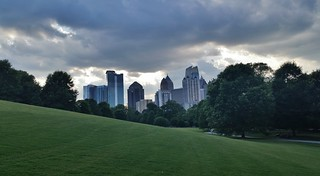 City view from Piedmont Park