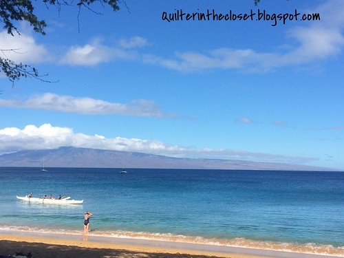 morning at Kaanapali beach