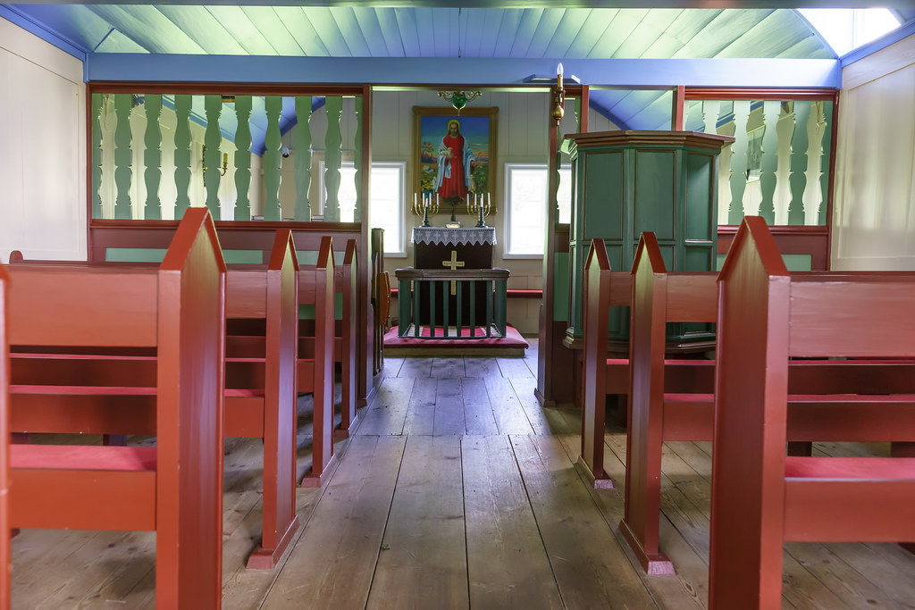 Icelandic Church Interior