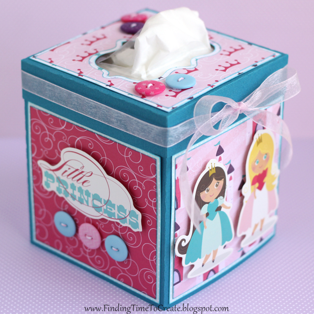 Tissue Box by Kelly Wayment
