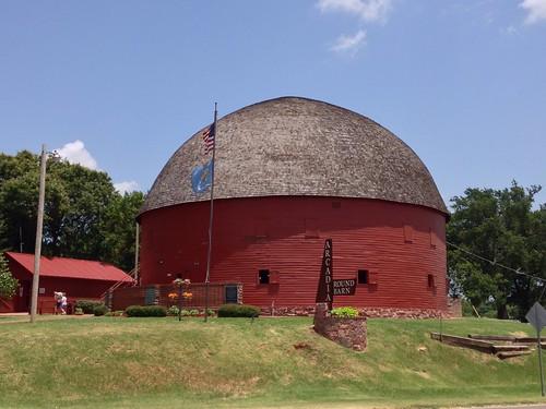 Arcadia Round Barn - Route 66, Arcadia, Oklahoma