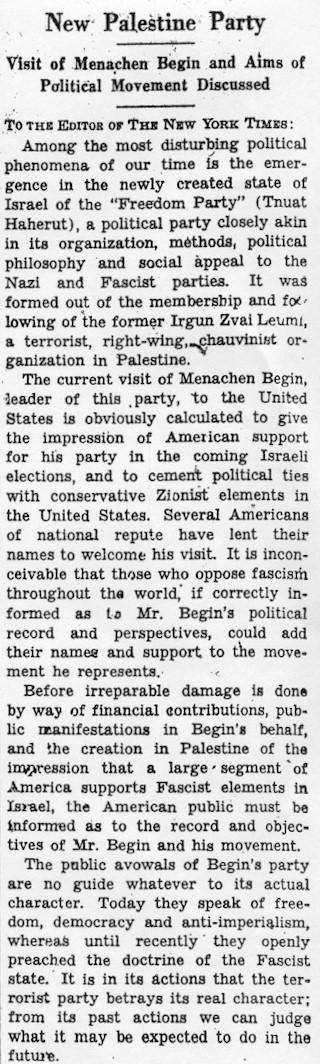 1948 Zion Fascist 1