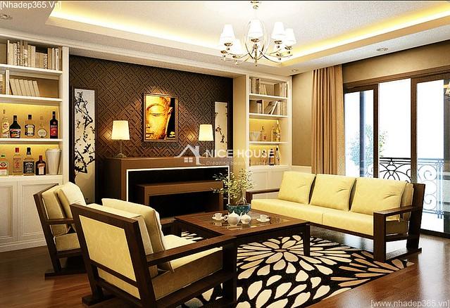 Nội thất căn hộ chung cư Royal City_6