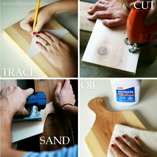 DIY Wood Cutting Board 2