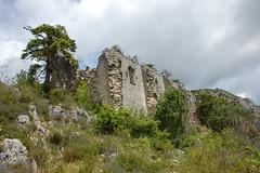 Ruine de l'église Saint-Michel - vieux Séranon