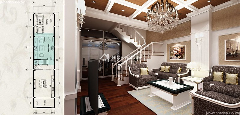 Thiết kế nội thất nhà anh Lý - Hà Đông_06