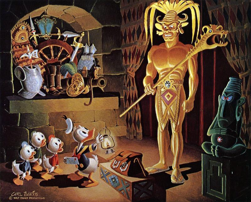 Carl Barks - El Dorado, The Gilded Man, 1974