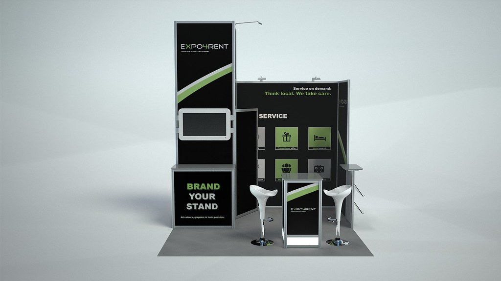Corner Exhibition Stands Care : B expo rent germany expo cunsult customized booth stands u flickr