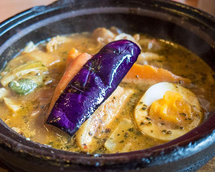 豚肉ざんまいカリーココナッツスープ