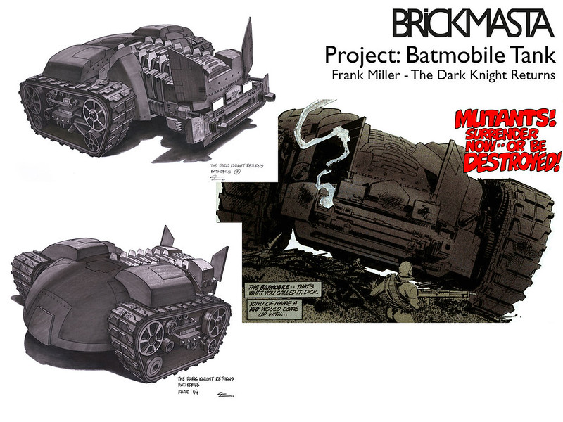 Project - Batmobile Tank