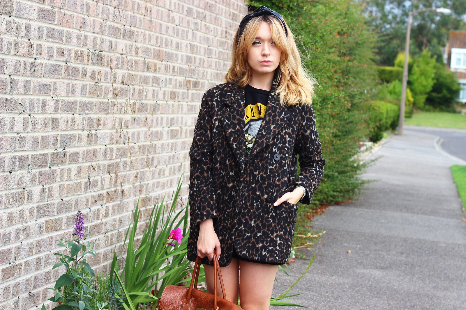 1leopardprintjacket, leopard print jacket h&m, outfit, retro, style