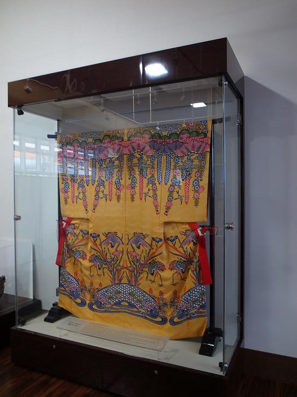 琉球國工的龍袍