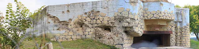 Bunker camouflé