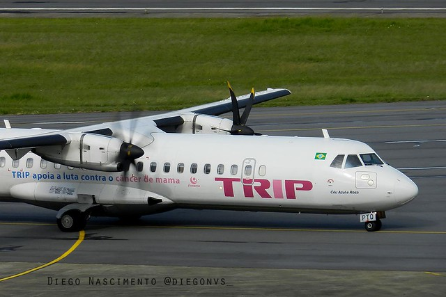 PP-PTQ AZUL Linhas Aéreas Brasileiras ATR 72-500 (72-212A) - cn 874