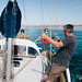 Capturing memories of friends together on a yacht by Robert Lang Photography