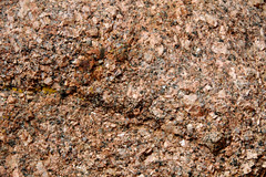 Coarsely-crystalline porphyritic granite (Pikes Peak Granite (pgpm2 facies); a little east of summit house atop Pikes Peak, central Colorado, USA) 2