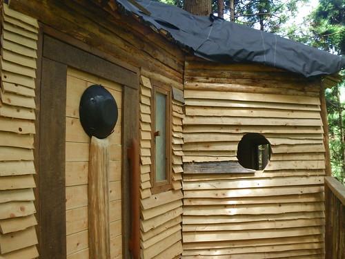 ツリーハウスの入り口