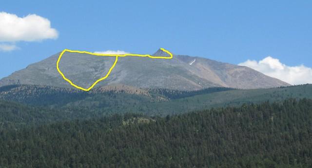 Culebra Peak Route