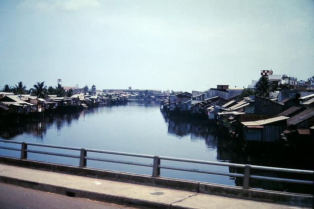 SAIGON 1968 - Cầu Phan Thanh Giản nhìn về cầu Thị Nghè