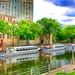Ottawa Ontario Canada ~ Rideau Canal ~  Tour Boats