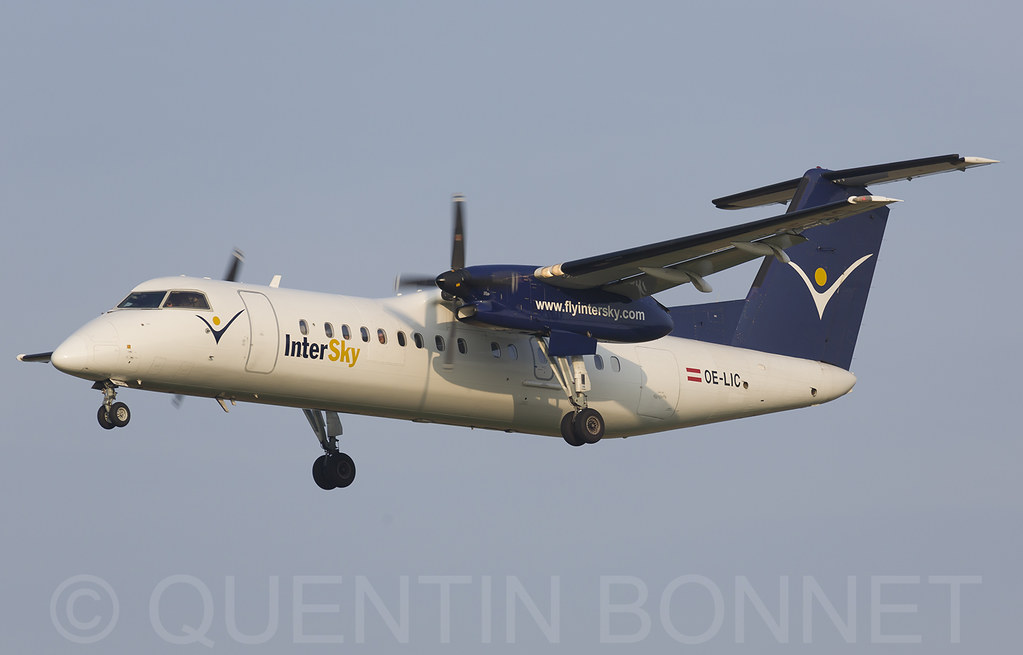 Intersky De Havilland Canada DHC-8-314Q Dash 8 OE-LIC