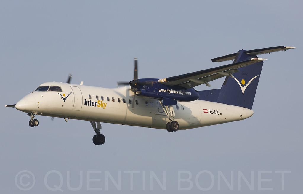 Intersky De Havilland Canada DHC-8-314Q Dash 8 OE-LIC