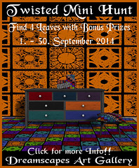 Twisted Mini Hunt Fall 2014 - Dreamscapes Art Gallery