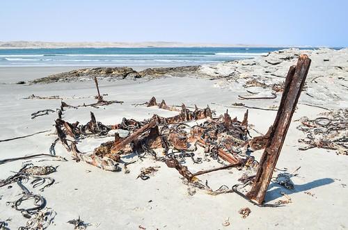 Shipwreck near Lüderitz, Namibia