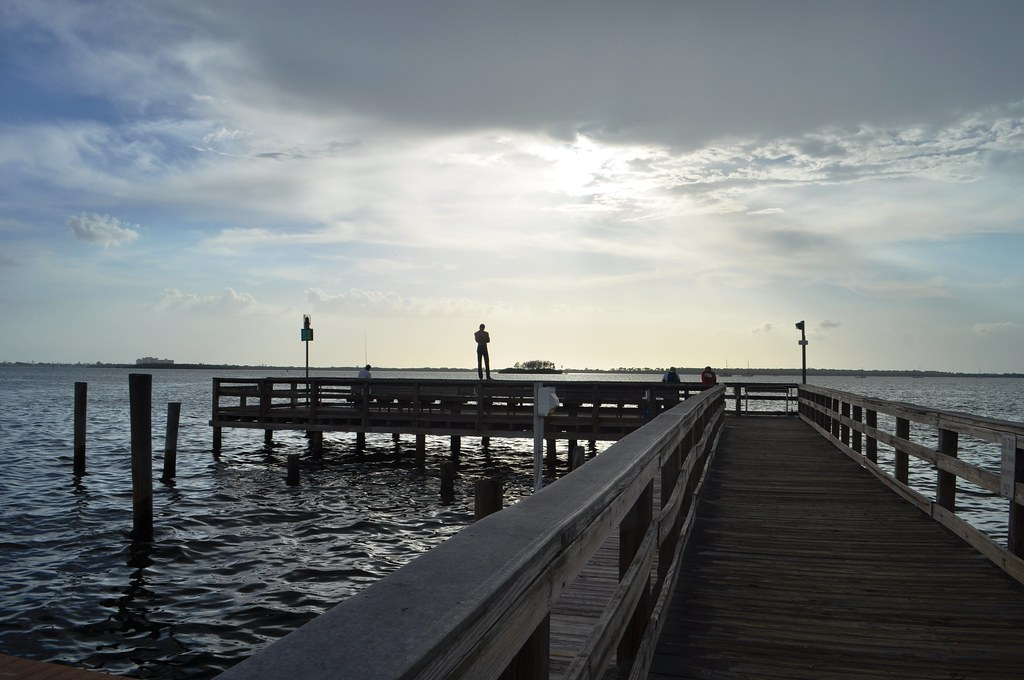 I Was Kinda Fascinated with that Guy Out on the Fishing Pier - Dunedin, Fla., Aug. 30, 2014