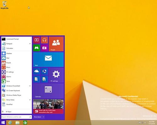 Windows 9 Threshold Build 9788