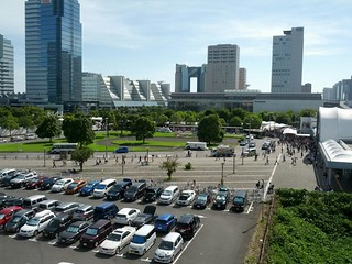 2014年夏コミ:国際展示場正門駅前
