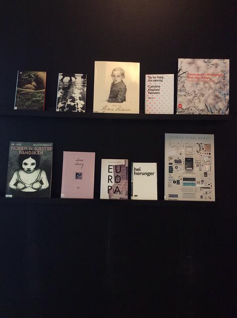 Nye utstillingshyller
