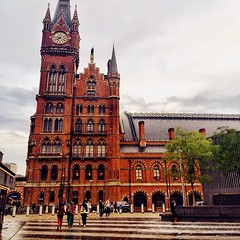 St Pancras (hotel), gorgeous as ever.