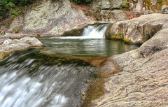 Upper Waterfall On Gragg Prong