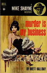 Dell 6052 Murder is my business 1963