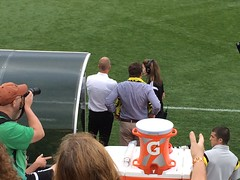 """This is @aprecourt to Berhalter """"Win this game or you're on double-secret probation!"""" ⚽️ #cr ew96"""