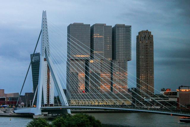Róterdam en los Países Bajos