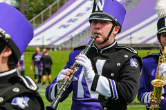 The Licorice Stick ::     The Northwestern University 'Wildcat' Marching Band rehearses with Million Dollar Quartet at Ryan Field before Wildcat Football hosts California on August 30, 2014.  Photo by Daniel M. Reck '08 MSEd.