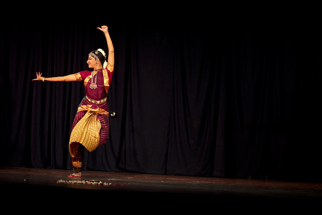 Traditional Indian dance - Bharatanatyam