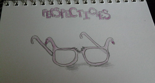 This is what I imagine my perspctacles look like. However it's spelled :0)